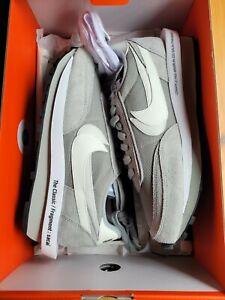Nike Sacai Fragment LD Waffle SF Light Smoke Grey DH2684-001 Men's Size 9.5
