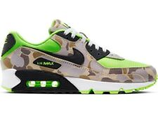 Nike Air Max 90 Green Camo Ghost Neon Reserve AM90 CW4039-300