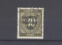 SBZ Mi.Nr. 208b, 30 Pfg. Freimarke 1948 gestempelt, geprüft BPP (29137)