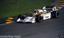 MARC SURER ARROWS A6 EUROPEAN GRAND PRIX BRANDS HATCH 1983 PHOTOGRAPH