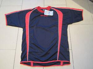 SALE: neues hochwertiges Shirt mit Kurzarm, blau/rot, Gr. M/L, Alpas Cool Dry