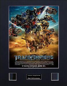 Transformers - Revenge of the Fallen Version 1 Photo Film Cell Presentation