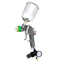 1.5mm HVLP Air Paint Spray Gun w/ Gauge Auto Painting Gravity Feed Tools