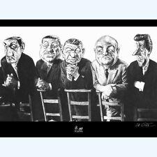C. Da Costa – Affiche Tontons flingueurs – « A la messe »