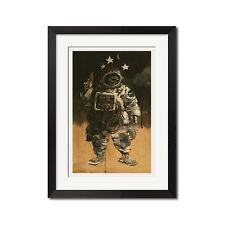 AW Dead Astronaut Gangsta Sci-Fi Urban Poster Print