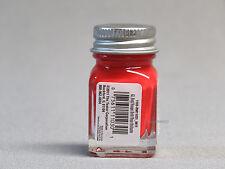 TESTORS PAINT GLOSSY RED ENAMEL 1/4oz JAR 7.4ml plastic model car train 1103 NEW