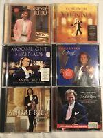 André Rieu Cd Album Bundle Job Lot 6x Albums
