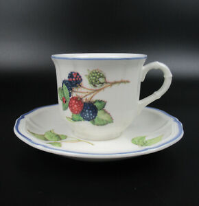 Villeroy & Boch Porzellan Kaffeetasse + Untertasse Serie Cottage V&B Coffee Cup