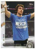 2015 Topps UFC Chronicles #232 Olivier Aubin-Mercier