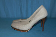 Zapatos FARASION Textil Beige T 40 MUY BUEN ESTADO