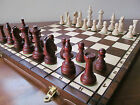 ♚ Hand Crafted Wooden Chess Set Tournament1 Weighted Pieces♞