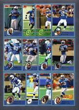 2003 Topps Indianapolis Colts TEAM SET - Peyton Manning