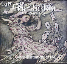 Arthur Rackham Art Nouveau Vintage childrens  Picture Books and images on DVD