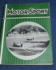 Motor Sport September 1960 German GP, MG Magnette MkIII, Jaguar 3.8 MkII