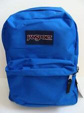 NWT JANSPORT SuperBreak Blue Streak Backpack Book Bag School Pack Shoulder NEW