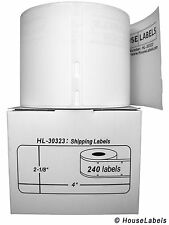 6 Rolls of 240 Large Shipping Labels for DYMO® LabelWriters® 30323 / 30573