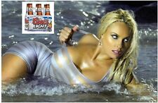 Coors Light Beer Blond Model Refrigerator / Tool Box Magnet