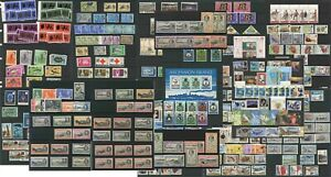ASCENSION Island MINT +USED Collectors Accumulation PRICED in GROUPS 1930-1990