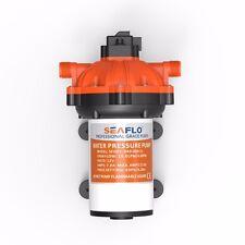 SEAFLO 12V Marine Boats 4.0GPM 60PSI Water Pressure Diaphragm Pump Self Priming