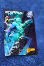 Wizard Series IV Holochrome card #14 Superman