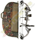 """Fred Bear Cruzer G2 Bow One Nation Midnight Camo LH Package 5-70# 12-30"""" W/ Case"""