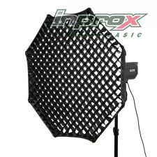 Inprox Basic Octabox Octagon Softbox w/ Honeycomb Grid (Bowens S) 120cm EU STOCK