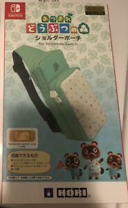 HORI Animal Crossing Shoulder pouch Bag Nintendo Switch NEW US Seller Ship NOW