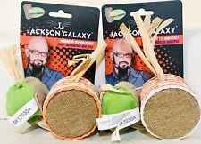 2 Petmate Jackson Galaxy Fresh Organic Catnip Marinater Toy 2 Count Multipack