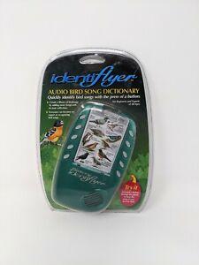 Identiflyer Audio Bird Song Dictionary Handheld Portable for Beginners & Expert
