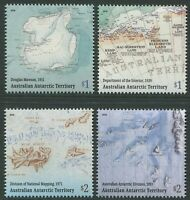 MAPPING THE AUSTRALIAN ANTARCTIC TERRITORY 2019 - MNH SET OF FOUR (G122)