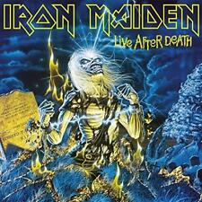 Iron Maiden-En vivo después de la muerte (nuevo 2 Vinilo Lp)