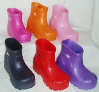 Kids Cloggz lightweight Moulded Ankle Boots Unisex Range of Colours & sizes