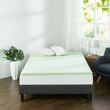 Zinus 1.5 Inch Green Tea Memory Foam Mattress Topper Twin