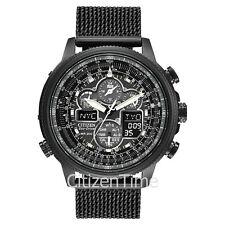 -NEW- Citizen NAVIHAWK Atomic Timekeeping Eco-Drive Watch JY8037-50E
