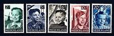 NETHERLANDS - OLANDA - 1951 - Pro Infanzia. Bimbi con sfondi vari