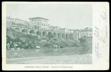 cartolina RIGNANO SULL'ARNO viadotto ferroviario
