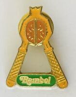 Rambol Nut Cracker Walnut Authentic Pin Badge Vintage Advertising (J6)