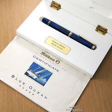 Pelikan Limited Edition Blue Ocean Fountain Pen - (M) #1656/5000