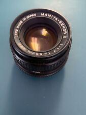 Mamiya - Sekor E 50mm 1:2 Lens 49