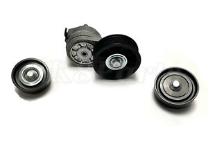 LAND ROVER DISCOVERY 2 RANGE P38 99-02 BELT TENSIONER & IDLER PULLEY KIT NEW