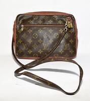 Original Louis Vuitton Vintage Pochette Monogram Canvas Tasche Bag
