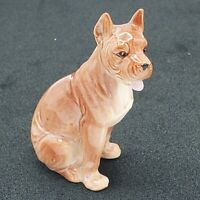 Vintage Porcelain Pointed Eared Dog Puppy Figurine 4 1/2""