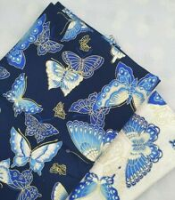 Woven Butterfly Printed Brocade Fabric Breathable DIY Clothing Bronzed Patterned