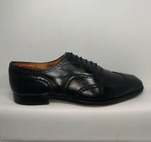 CHURCH'S Black Oxford Brogue Chetwynd Shoes Men Sz.US 14 Made In England