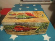 DDR Spielzeug Anker / Piko / Presu / Elmes Kabelgesteuerte Raupe Karton original