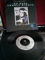 "Paul McCartney – No More Lonely Nights Vinyl 7"" Single UK R 6080 1984"