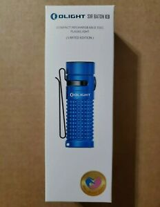 Olight S1R Baton II Blue Charity Edition. Flashlight W charger only. In box