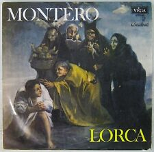 Fédérico Garcia Lorca 33 tours Germaine Montero
