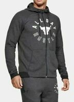 NWT Under Armour UA Project Rock All Day Hustle Hoodie Zip-Up Heather 1330912 M