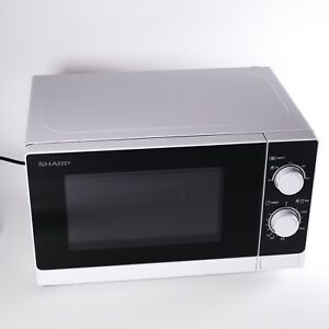 SHARP R-200 (White) Solo Compact Mechanical Microwave (Open box - unused)
